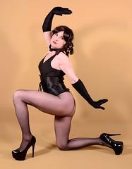 101Q3L (klarissakrass) Tags: tights heels crossplay