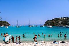 Paxoi, Greece (Nafsika Chatzitheodorou) Tags:     summer sun sunny sunshine blue green sky sea paxoi antipaxoi paxos antipaxos vocation holiday people beach greece hellas