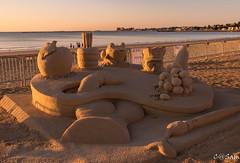 SSS_0183 (Sam 8899) Tags: sand sculpture beach sunrise morning light sky sea color