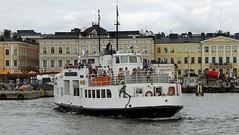 Sunlines ferry Helsinki harbour Finland (David Russell UK) Tags: sunlines sun lines ferry boat ship vessel public transport port harbor water sea ocean baltic helsinki finland
