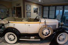 Classic Ford (djking) Tags: ford car classic convertible dealership touringcar