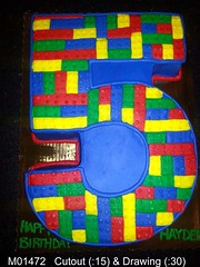 M01472 (merrittsbakery) Tags: cake shaped lego toy theme number