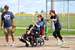 Rounding The Bases (richardf957 ( Thanks For All The Views)) Tags: richardf957 rfphotography richardf baseball cerebral palsy hamilton happy special needs children