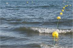 3830-BOYAS EN ISLANTILLA - HUELVA - (-MARCO POLO--) Tags: playas costas atardeceres ocasos rincones mares