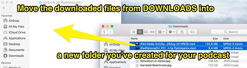 Move files to a single folder by Wesley Fryer, on Flickr
