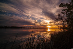 Fall Sunset (davehillsd) Tags: hartford southdakota unitedstates us