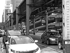 "Under the ""L"" (Mark...L) Tags: chicago elevatedrailway thel"