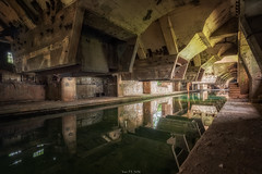 Cold water (Yann PESIN) Tags: urbex urban urbexing exploration decay oblivion path urbaine oubli ruine abandoned places exploring