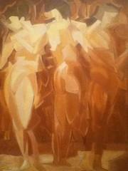 "Art by Gorges Braque ""Figures"" (SandraNestle) Tags: sandranestle braque 20thcentury abstract figures women art newyork metropolitanmuseumofart modern midcentury"