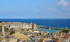 OCT_1613_00013 (Roy Curtis, Cornwall) Tags: uk cornwall stives view harbour birdseyeview