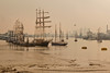 Tall ships at Woolwich