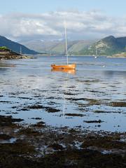 Plockton (Spannarama) Tags: uk seaweed scotland boat highlands loch plockton lochcarron