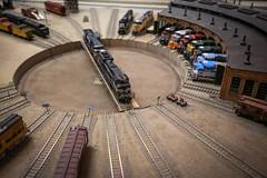 Roundhouse (FarmerTed1971) Tags: oregon portland unitedstates trains