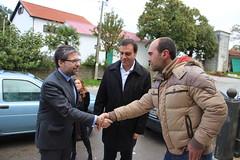 Marco António Costa em visita ao Concelho de Bragança