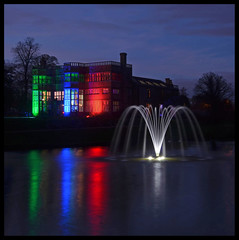 Lights on Astley Hall. (Yvette-) Tags: lancashire chorley astleyhall astleypark nikond5100