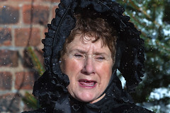 CAROL SINGER (mark_rutley) Tags: snow female victorian portsmouth letitsnow portsmouthdockyard letitgrow victorianchristmasfestival