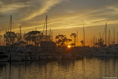 Dusk in the harbor (Joe Hengel) Tags: california sunset boats harbor pacificocean socal southerncalifornia danapoint