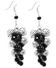 5th Avenue Black Earrings P5110A-3