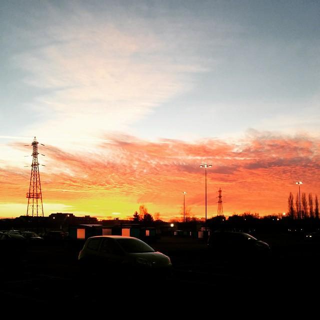 Cest les soldes. Le ciel vous fait une promo exceptionnelle sur les couleurs.