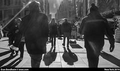 #fivedayblackandwhitechallenge (eraneran70) Tags: nyc couple shadows timessquare tow eranbendheim fivedayblackandwhitechallenge
