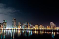 Dubai Night Sky 2014