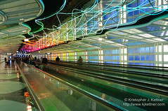 Airport Fun (kjkettnerphoto) Tags: city travel vacation people usa chicago art architecture america photography illinois airport escape unitedstates unitedstatesofamerica citylife il journey transportation northamerica destination ohareinternationalairport destinations traveldestinations colorimage traveldestination peopletraveling horizontalcomposition