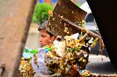 The Garbage Boy 1 (Ami VONDo) Tags: boy children garbage nikon cleaning dust bangladesh collector mehrab saifuzzaman