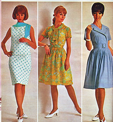 Spiegel 67 sale dresses 3 (jsbuttons) Tags: clothing mod 60s buttons spiegel womens clothes 1967 catalog 67 sixties vintagefashion