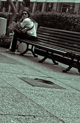 Ella (jibranjjalil) Tags: me mujer ella que bella soledad mundo otro piensa intriga pensativa acompañada