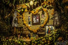 NocheDeMuertos-2014 (Alebrije Comunicacin) Tags: mxico mexico altar offering mexique michoacn calaveras ofrenda esqueletos dademuertos cuanajo thedayofthedead lautel traciones lejourdesmortes