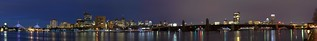 Charles River night pano