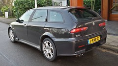 Alfa Romeo 156 GTA SportWagon (sjoerd.wijsman) Tags: auto black holland cars netherlands car wagon rotterdam break estate nederland thenetherlands voiture alfa romeo vehicle holanda autos gta alfaromeo import zwart paysbas combi kombi olanda stationwagon fahrzeug niederlande 156 zuidholland alfa156 hillegersberg carspotting estatecar stationcar alfaromeo156 carspot alfaromeogta 156gta alfaromeo156gta rotterdamhillegersberg sidecode8 06122014 6knb25