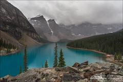 Moraine Lake, Banff National Park (Alberta) (Anna & Oskar) Tags: travel viaje canada canon landscape paisaje can alberta eldon morainelake canadianrockies 1dx montaasrocosas 5dmarkii kananaskiscountryclaresholm