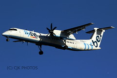 G-ECOC (CJK PHOTOS) Tags: code aircraft 8 dash airline type information registration sn bombardier modes flybe q400 4197 dh8d gecoc 405658