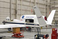 Northrop Grumman YRQ-4A Global Hawk, NASA 872