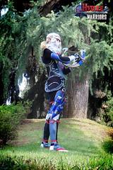 Ballad of the Goddess (DrosselTira) Tags: blue costume outfit smash play time cosplay ninja nintendo version super queen zelda warriors cosplayer harp legend sheik ocarina hw hyrule