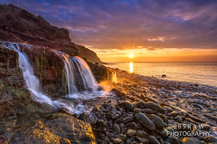 Sunrise at Osmington (289RAW) Tags: ocean sea beach sunrise canon coast waterfall december filter lee dorset jurassic 6d 1740l 2014 purbecks osmington cloudsstormssunsetssunrises badpter 289raw 289rawphotography