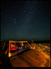 Transitando la estepa nocturna