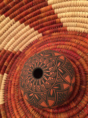 IMG_5262 (Dallas Photoworks) Tags: new city sky usa southwest art mexico design native crafts indian pueblo american baskets pottery navajo acoma