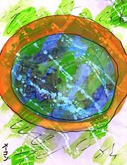 Sloppy Seconds [1,001 Sobas With Senpai #135] (Marc-Anthony Macon) Tags: art folkart outsiderart folk surrealism egg eggs noodles soba dada surrealist dadaism dadaist senpai bulldada neodada dadaísmo neodadaism