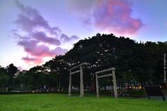 (szintzhen) Tags: sky cloud taiwan   torii   taipeicity