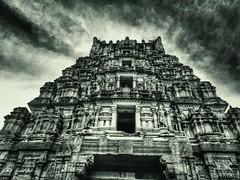 Chamundi hills, mysore (gandhi88) Tags: blackandwhite sony temples karnataka mysore chamundihills chamunda templearchitecture mahishasuramardini templesinindia karnatakatemples chamundeshvari snapseed mahabalachala