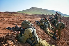 Givati Brigade Simulates Combat on the Northern Border (Israel Defense Forces) Tags: infantry army israel exercise military soldiers combat weaponry weapons idf jordanvalley givati israeldefenseforces givatibrigade