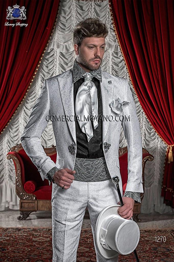 5051fa0801 Traje de novio italiano gris perla 1270 Ottavio Nuccio Gala. (CMGala) Tags
