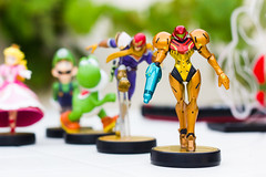 Samus amiibo (FaruSantos) Tags: toys nintendo games videogames jogos metroid samus miniaturas amiibo