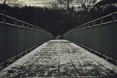 Zwischen Brücke und Geländer (Neowinger) Tags: italien bridge schnee usa snow japan river germany nikon asien wasser europa italia hessen sigma olympus australien fluss oly battenberg eder merril dp3 mittelformat vollformat d700 d300s mrlinux71
