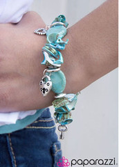 Glimpse of Malibu Blue Bracelet K1(txma)