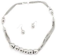 5th Avenue Silver Necklace P2230A-1