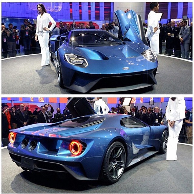 The New Ford Gt Replacement No Hybrid Technology Here Thank God Fordgt Detroitmotorshowfordsupercarsupercars