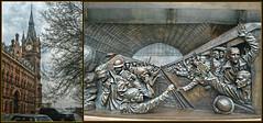St pancras Station London (Loco Steve) Tags: travel sculpture london tower clock station architecture war eurostar victorian railway frieze soldiers ww1 arrival departure paulday meetingplace sirgeorgegilbertscott pauldaystpancrasinternationalstation